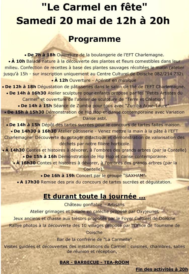 Portes ouvertes Carmel Verso (2)